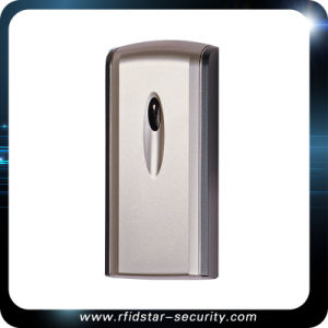 Sliver-Gray Wireless No Keypad Waterproof Smart RFID Card Reader