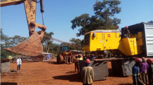 Forlift Loader/Xj968-27D for Sale to Africa Quarry pictures & photos