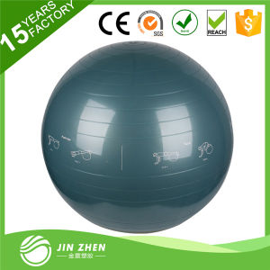 Yoga Fitness Ball with Logo Printed Exercise Stability Ball PVC Ball pictures & photos