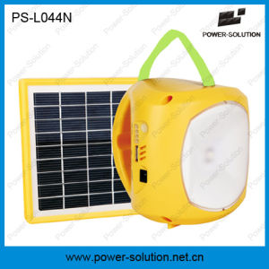 Power Solution Portable 3.7V/2600mAh Lithium-Ion Battery Rechargeable LED Solar Light with Phone Charging pictures & photos