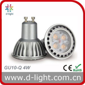 LED Bulb GU10 Aluminum Body 4W 230V 300lm pictures & photos