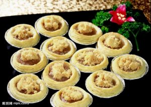 High Quality Egg Tart Household Aluminum Foil Container pictures & photos