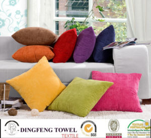 Hot Sales Solid Color Velvet Cushion Cover Df-9814 pictures & photos
