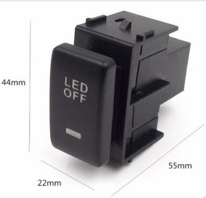 Special Dedicated 12V Car Fog Light Switch Daytime Running Lights Switch Use for Nissan, Qashqai, Juke, Tiida, Almera, X-Trail pictures & photos