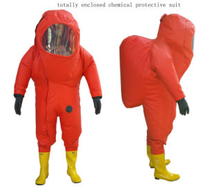 Totally Enclosed Heavy Type Chemical Protective Suits pictures & photos