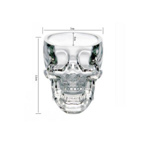 Crystal Skull Head Vodka Whiskey Shot Glass Cup Drinking Bottle pictures & photos