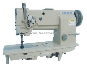 Compound Feed Heavy Duty Lockstitch Sewing Machine pictures & photos