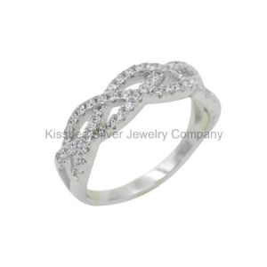 925 Silver Jewelry, Brass Jewelry Elegant Finger Ring for Women (KR3035) pictures & photos