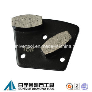 Grinding Concrete Segments Metal Diamond Polishing Pad pictures & photos