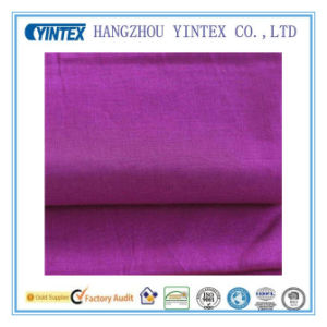 Knitted Cotton Fabric for Home Textiles with Sewing Crafting, Purple pictures & photos