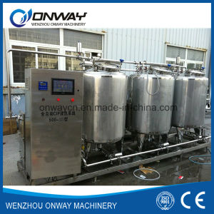 Stainless Steel CIP Cleaning System Alkali Cleaning Machine for Cleaning in Place Industrial Washing System Price pictures & photos