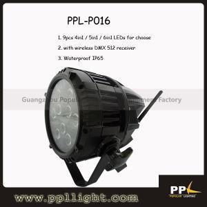 Waterproof LED PAR 9X10W Wireless DMX LED Uplight pictures & photos