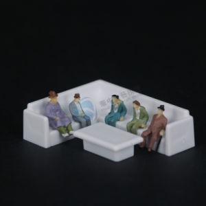 Diecast Model Furniture, Leisure Corner Sofa (2 PCS/set)