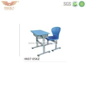 High Quality School Furniture Student Desk (HX07-05KZ) pictures & photos