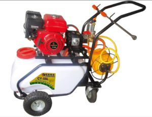 Gasoline Engine Recoil Four Stroke Hand Push Sprayer (CY-55L) pictures & photos