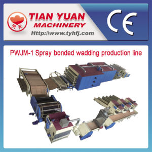 Nonwoven Mattress Wadding Production Line (PWJM-1) pictures & photos