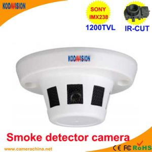 Imx238 CMOS 1200tvl Smoke Detector Dusguised Miniature Camera pictures & photos