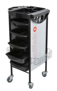 Good Practicability Strong Hair Salon Trolley with Baskets (MY-Q8A) pictures & photos
