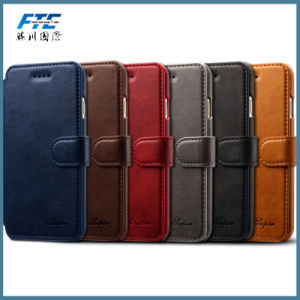2017 New Innovative PU Leather Case Wallet Mobile Phone Case pictures & photos