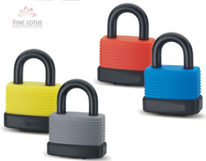 High Quality Laminated Water Proof Coated Padlock pictures & photos