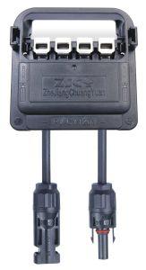 PV-Cy 1201 4 Rail 8A 1000V Clamping Sealing Solar PV Waterproof BIPV Junction Box Junction Boxes