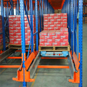 Hot Selling Steel Radio Shuttle Racking for Warehouse Storage System pictures & photos