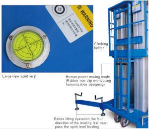 Bottom Price for Three-Mast Aluminum Alloy Aerial Work Platform pictures & photos
