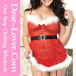 2016 Fashion Sexy Santa Christmas Lingerie pictures & photos