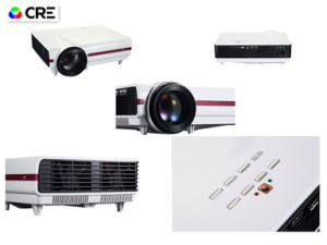 720p LED LCD HDMI USB VGA Interface Home Cinema Game Projector pictures & photos