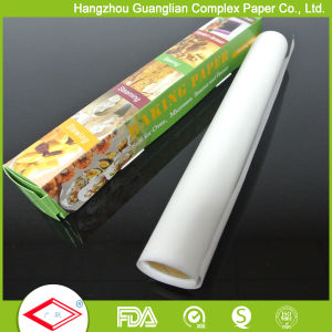 FDA Heat Resistant Oven Safe Greaseproof Silicone Baking Paper Rolls and Sheets pictures & photos