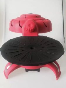 2016 Hot Sale Easily Assembled BBQ Electric Pizza Oven (ZJLY) pictures & photos