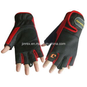 Gym Cycling Half Finger Sports Padding Glove pictures & photos