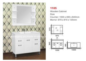 Bathroom Furniture (No. 1105) Assembly Cabinet, Wooden Cabinet pictures & photos
