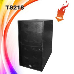 Ts218 High-End Power PRO Audio Subwoofer Speaker pictures & photos