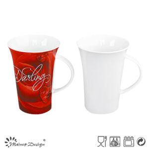 13oz Porcelain Ceramic Milk Mug High Quality pictures & photos