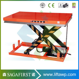 High Quality Europe Standard Fixed in Ground Scissor Lift Jack pictures & photos
