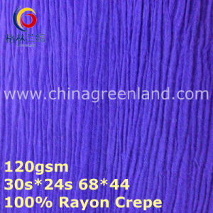 100%Rayon Crepe Woven Dyeing Fabric for Blouse (GLLML374) pictures & photos