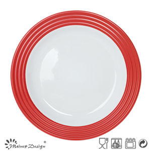 27cm Ceramic Dinner Plate with Decal Printing pictures & photos