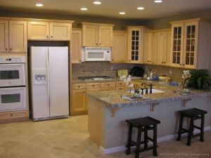Light Wood Kitchen Cabinet (lw20) pictures & photos