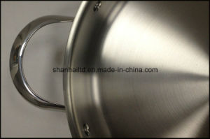 3ply Body Taper Shape All-Clad Cookware Set pictures & photos