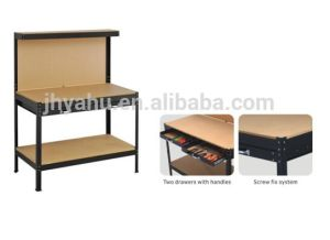 Heavy Duty Metal Work Table with Drawers Steel Workbenches (YH-WT006A) pictures & photos