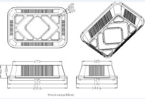 Top Quality Aluminium Foil Tray Machine pictures & photos
