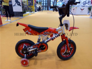Red Suspension Frame Latest One Speed Motorcycle/Motorcicletas for Kids pictures & photos