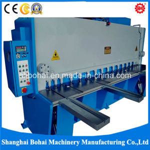 Hydraulic Guillotine Shearing & Cutting Machine QC11y-16X4000 pictures & photos