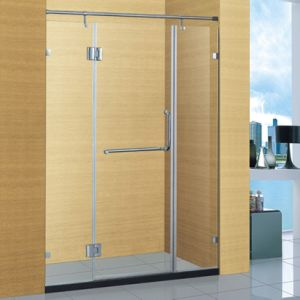Hotel Bathroom 304 Stainless Steel Frame Shower Room (A-8911) pictures & photos