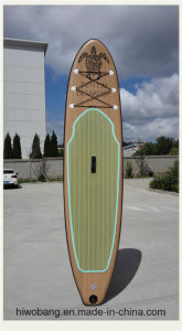 Summer Hot Sale Surfboard Wood Pattern Surfboard pictures & photos