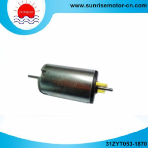 31zyt053-1870 18VDC 0.048n. M 3550rpm 18W Permanent Magnet DC (PMDC) Motor pictures & photos