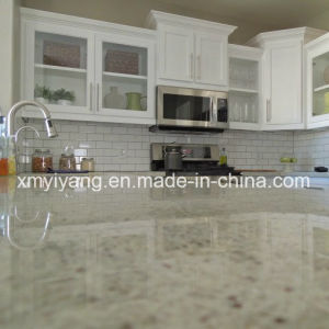 Popular Spray White Granite for Countertop / Kitchen / Vanity Top pictures & photos