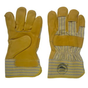 Top Cow Grain Driver Work Working Glove pictures & photos