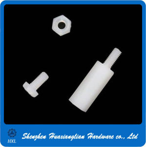 Black White PCB Nylon Plastic Hexagon Male and Female Thread Standoff Spacer pictures & photos
